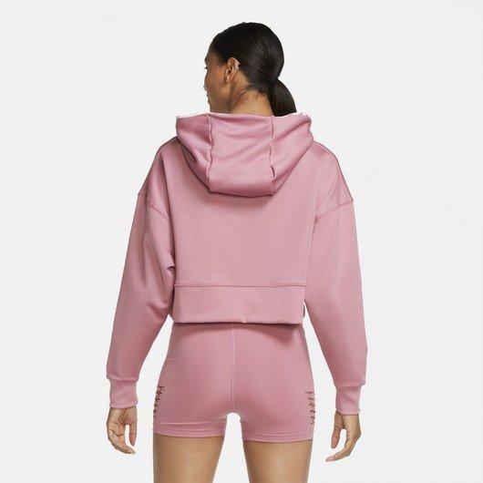 Nike Therma Cropped Pullover Training Hoodie Kadın Sweatshirt