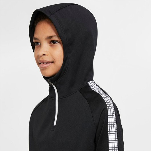 Nike Dri-Fit CR7 Half-Zip Long-Sleeve Hoodie Çocuk Tişört