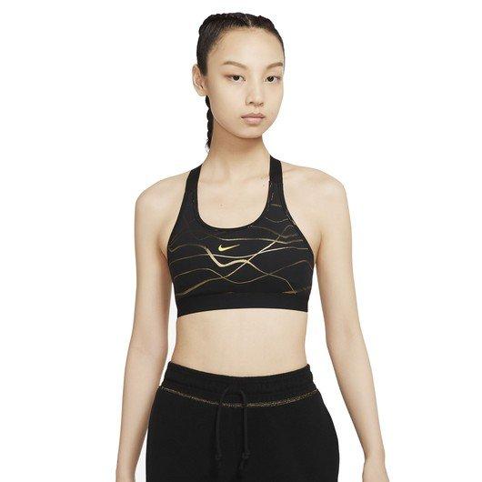 Nike Swoosh Icon Clash Medium-Support Printed Sports Kadın Büstiyer