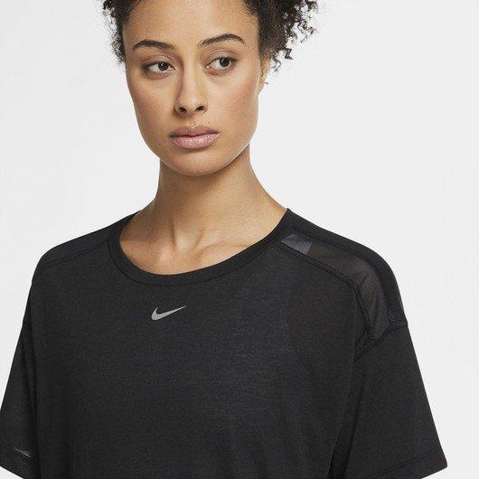 Nike Pro AeroAdapt Short-Sleeve Top Kadın Tişört