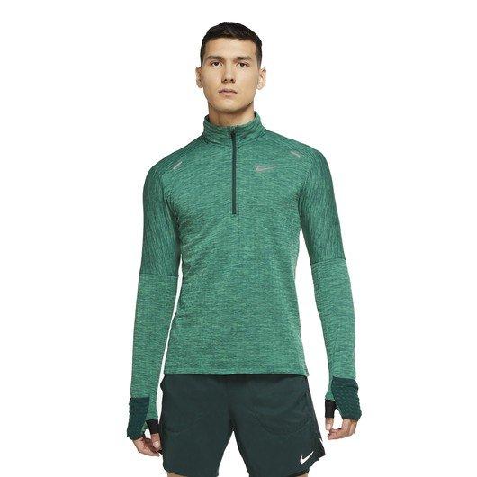 Nike Therma Sphere Half-Zip Long-Sleeve Running Top Erkek Tişört