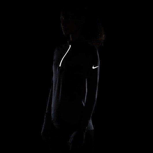 Nike Run Division 1/2-Zip Wool Long-Sleeve Running Top Kadın Tişört