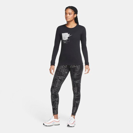 Nike Sportswear Icon Clash High-Waisted Leggings Kadın Tayt