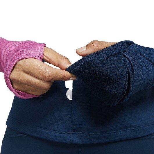 Nike Therma Sphere Icon Clash Long-Sleeve Running Top Kadın Tişört