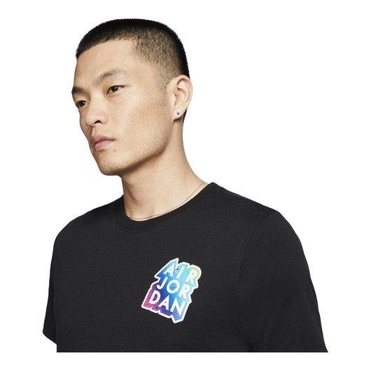 Nike Jordan Brand Sticer Mash Short-Sleeve Erkek Tişört