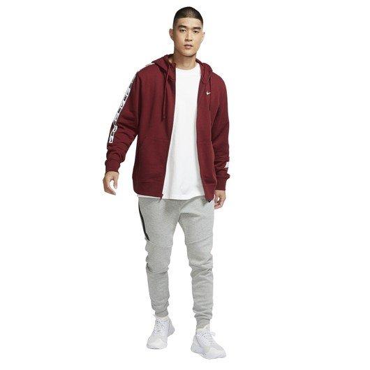 Nike Sportswear Repeat Full-Zip Training Hoodie Erkek Sweatshirt
