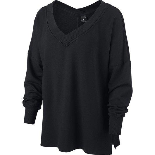 Nike Yoga Fleece Cover-Up Long-Sleeve Kadın Tişört