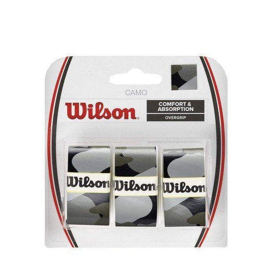 Wilson Camouflage Over (3 Pair) Grip
