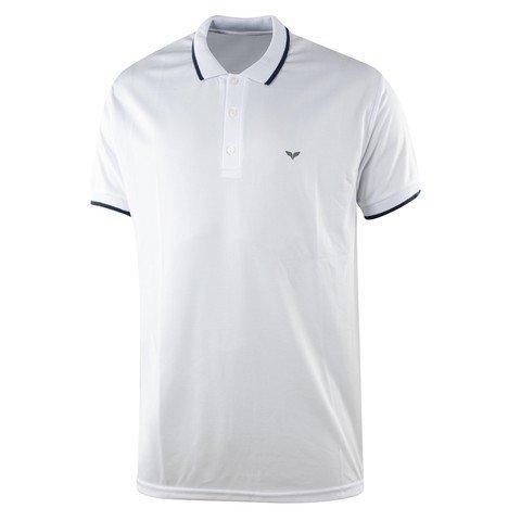 Barçın Basics Beyaz Polo Erkek Tişört
