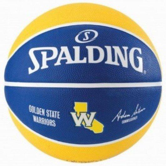 Spalding NBA Team Golden State Warriors No:7 Basketbol Topu