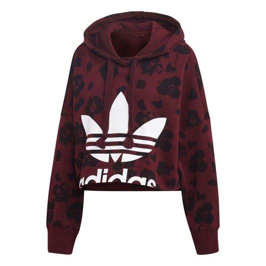 adidas Cropped Hoodie Kapüşonlu Kadın Sweatshirt