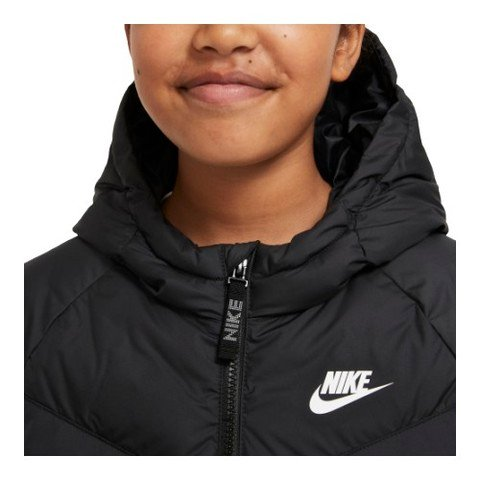 Nike Sportswear Synthetic-Fill Full-Zip Hoodie Çocuk Mont