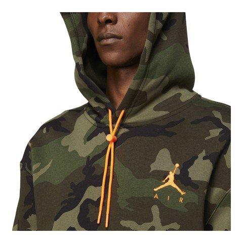 Nike Jordan Jumpman Air Camouflage Fleece Pullover Hoodie Erkek Sweatshirt