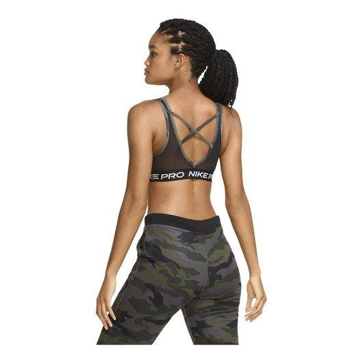 Nike Pro Swoosh Medium-Support 1-Piece Pad Camouflage Kadın Büstiyer