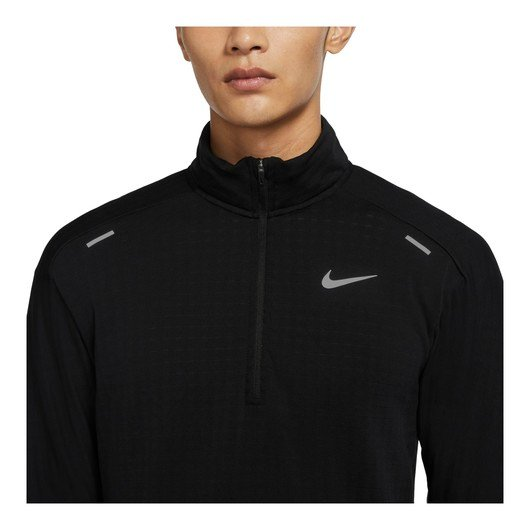 Nike Therma Sphere Half-Zip Long-Sleeve Running Top Erkek Tişört