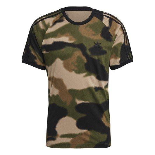 adidas Camouflage 3-Stripes Short-Sleeve Erkek Tişört