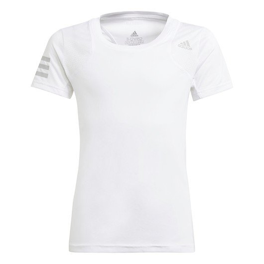 adidas Club Tennis 3-Stripes Short-Sleeve (Girls') Çocuk Tişört