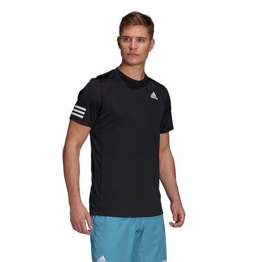 adidas Club Tennis 3-Stripes Short-Sleeve Erkek Tişört