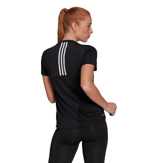adidas AEROREADY Designed 2 Move 3-Stripes Sport Kadın Tişört