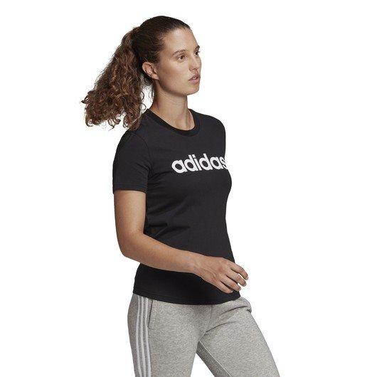 adidas LOUNGEWEAR Essentials Slim Logo Short-Sleeve Kadın Tişört