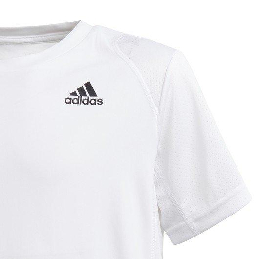 adidas Club Tennis 3-Stripes Short-Sleeve (Boys') Çocuk Tişört