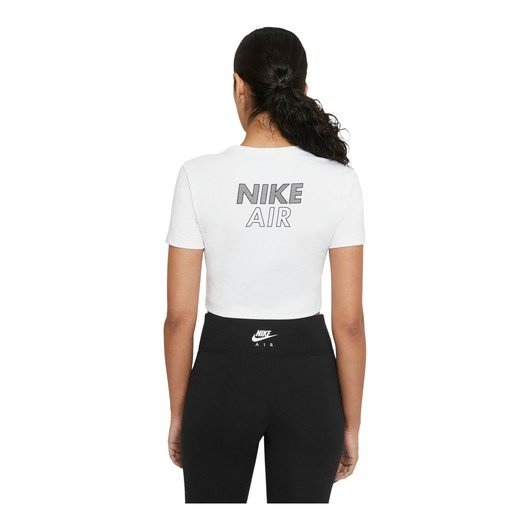 Nike Air Short-Sleeve Crop Top Kadın Tişört