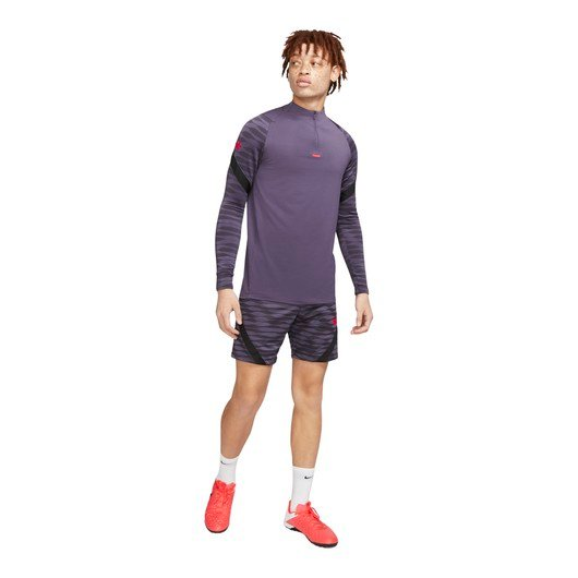 Nike Dri-Fit Strike 1/4-Zip Football Drill Top Long-Sleeve Erkek Tişört