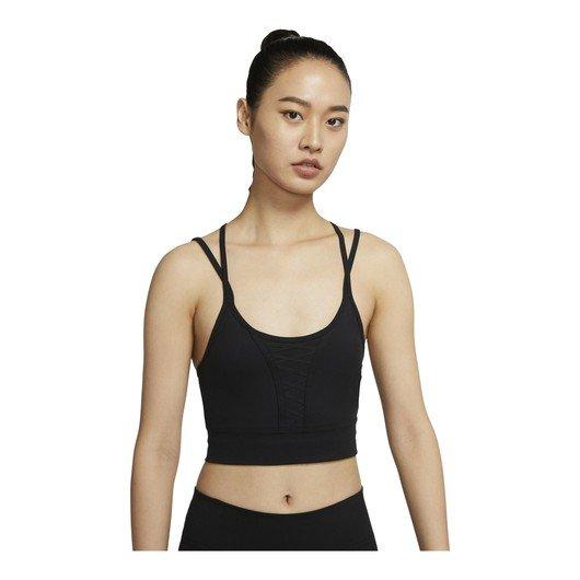Nike Dri-Fit Cropped Laced Training Tank Kadın Atlet