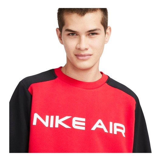 Nike Sportswear Air Fleece Crew Erkek Sweatshirt