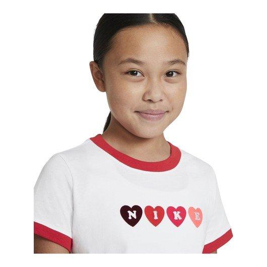 Nike Sportswear Ringer Love Short-Sleeve (Girls') Çocuk Tişört