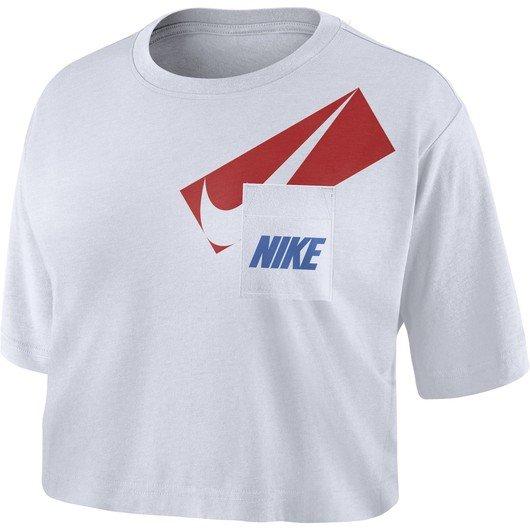 Nike Dri-Fit Graphic Training Crop Top Kadın Tişört