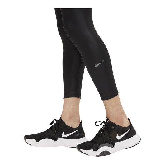 Nike One Faux-Leather Mid-Rise 7/8 Leggings Kadın Tayt