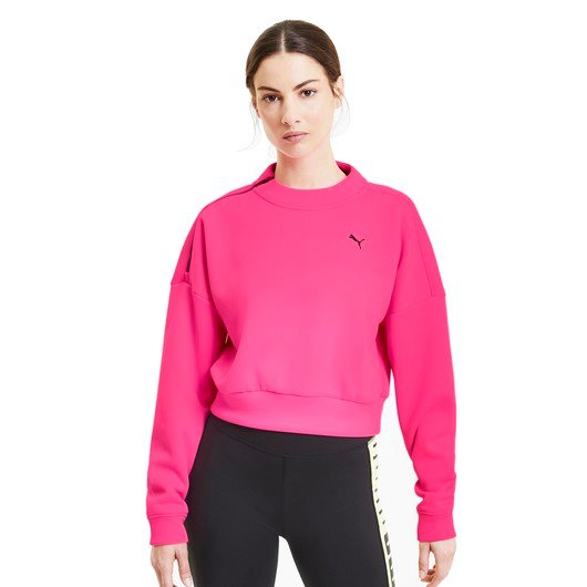 Puma BRAVE Train Zip Crewneck Kadın Sweatshirt