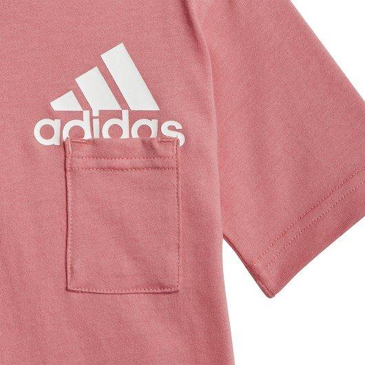adidas Badge of Sport Tişört&Şort Bebek Takım