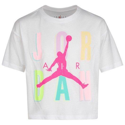 Nike Jordan Short-Sleeve (Girls') Çocuk Tişört