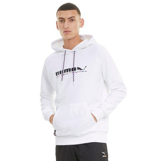 Puma International Graphic Hoodie Erkek Sweatshirt